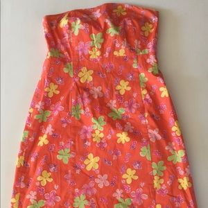 Lilly Pulitzer Women's Strapless Dress Size 12